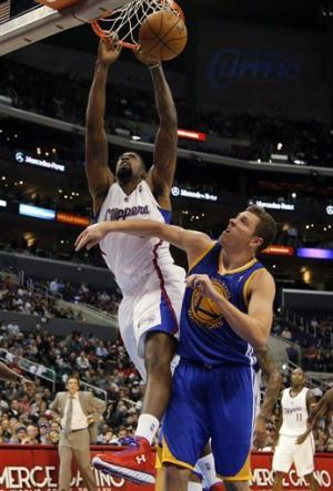 Jordan, Clippers beat Warriors 88-71