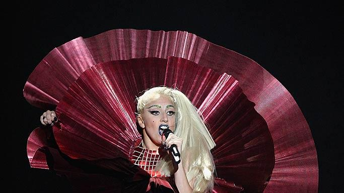Lady Gaga MTV European Music Awards