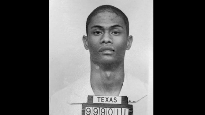 FILE - This November 1991 file photo shows Texas death row inmate Ponchai Wilkerson. Wilkerson was executed on March 14, 2000. (AP Photo/Texas Department of Criminal Justice, File)