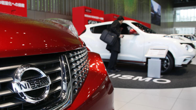 Nissan quarterly profit dives on China sales slump