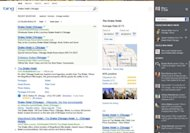 A Restaurant Search (People Who Know) with the new Bing experience
