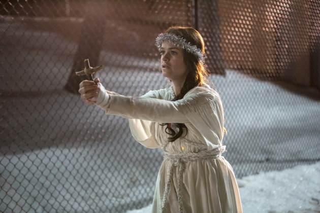Tiffany 'Pennsatucky' Doggett (Taryn Manning) is far from an angel on 'Orange Is the New Black' -- Netflix