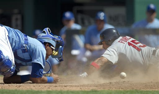 Beltran has 3 RBIs, Cardinals beat Royals 11-8