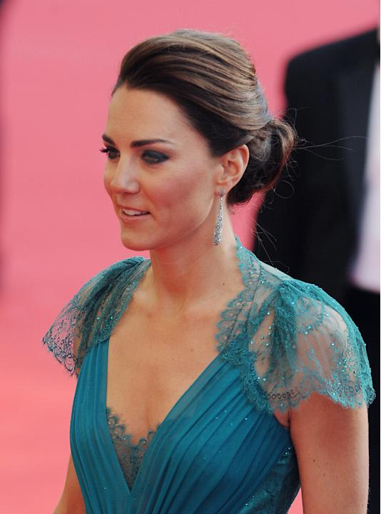 Kate Middleton, somptueuse, au Royal Albert Hall à Londres pour
