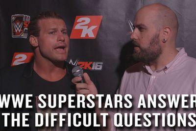 WWE Superstars and Divas answer questions about food and insects