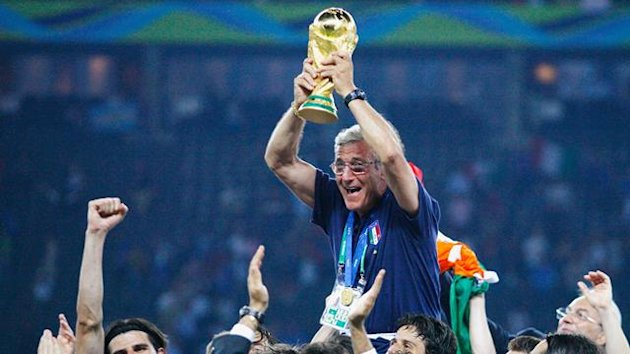 FOOTBALL 2006 World Cup Italy Lippi