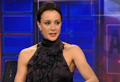Paula Broadwell | Photo Credits: Comedy Central