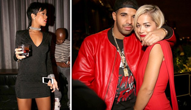 Rihanna back with Drake