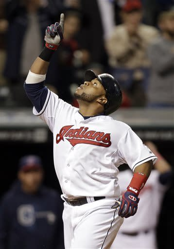 Indians edge Athletics 4-3 on controversial call