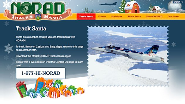 NORAD Ditches Google to Track Santa (ABC News)