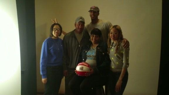 Anthony Davis Introduces His Family