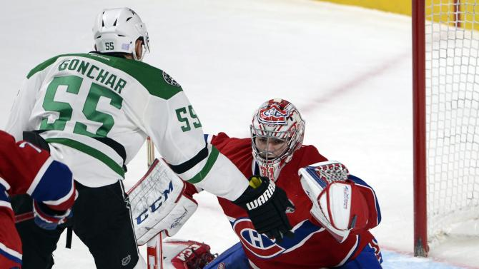 Canadiens slip past Stars 2-1