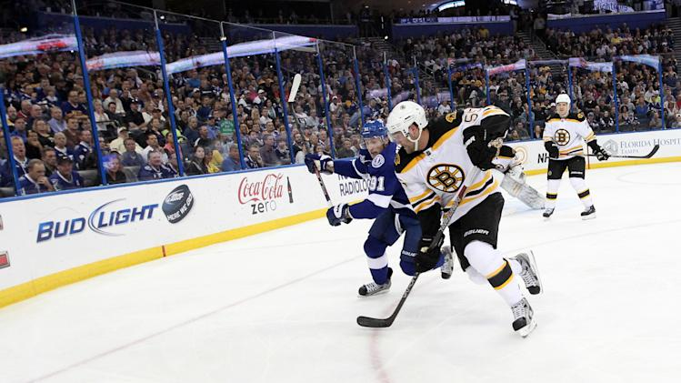 NHL: Boston Bruins at Tampa Bay Lightning