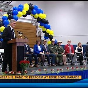 Mira Mesa High School band to perform at Rose Bowl Parade