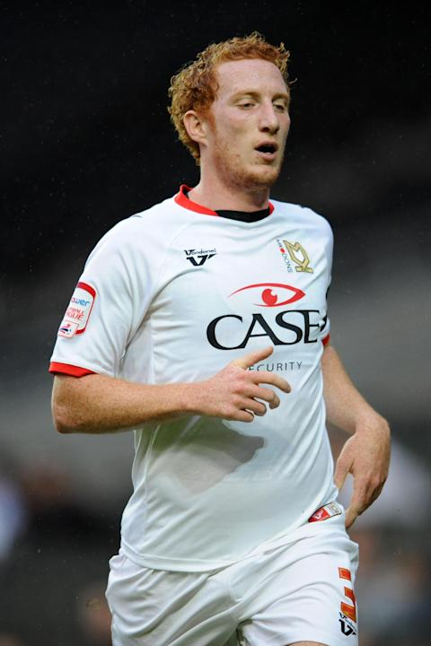 Dean Lewington become the fourth MK Dons player to be sent off this season