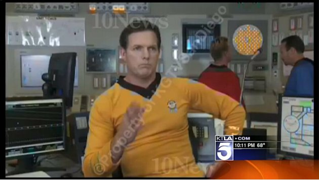 Edison Employees Shoot `Star Trek` Spoof Video at San Onofre