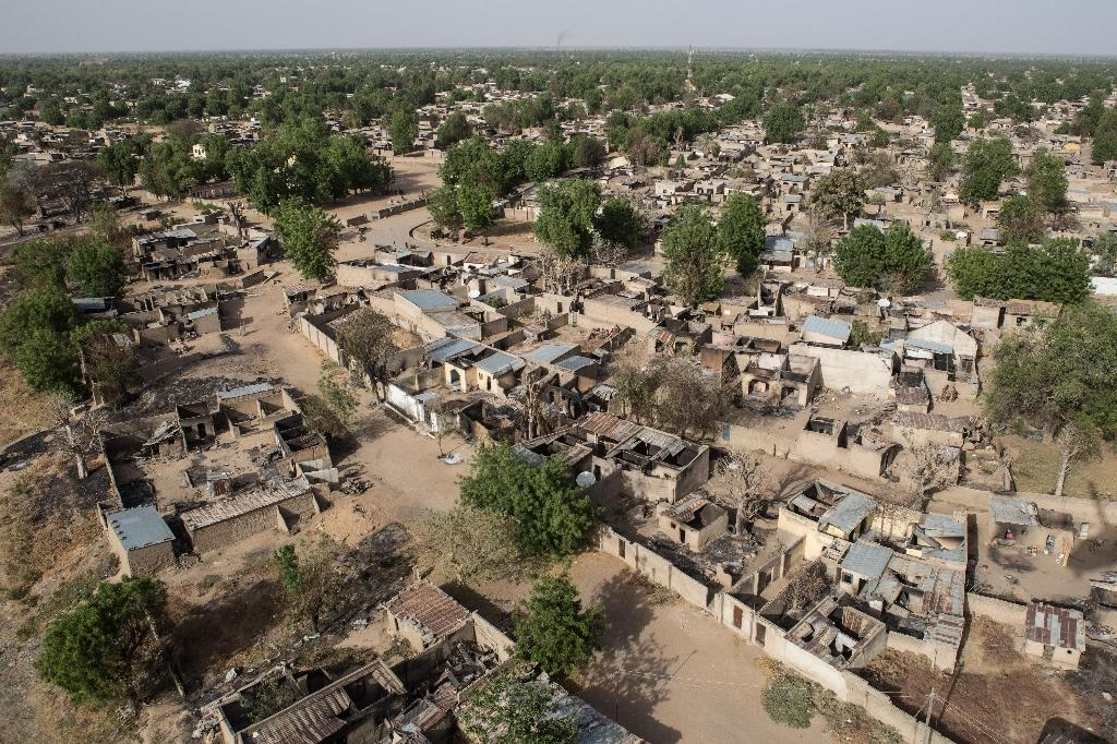 Bama: a sight and stench of death after Boko Haram defeat