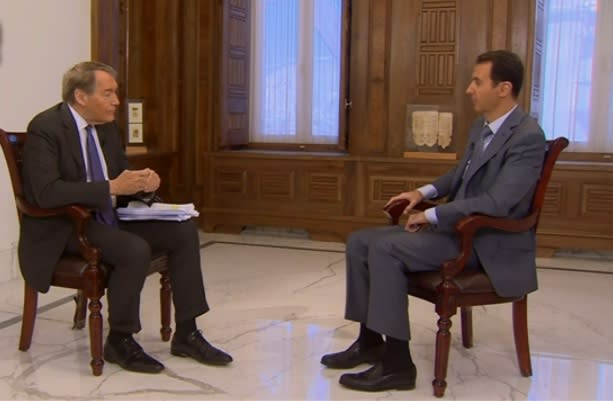 Syrian President Bashar al-Assad Demands CBS Use Syrian Technicians, Cameras in Charlie Rose Interview (Video)