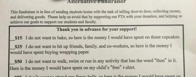 Blunt school fundraising letter strikes a chord
