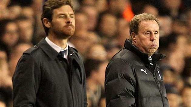 Andre Villas-Boas and Harry Redknapp