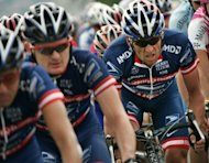Lance Armstrong takes part in the Tour de France cycling race in 2004. He was banned for life by USADA and stripped of his seven Tour de France triumphs from 1999-2005 after declining the chance to challenge the doping charges against him before a USADA arbitration panel