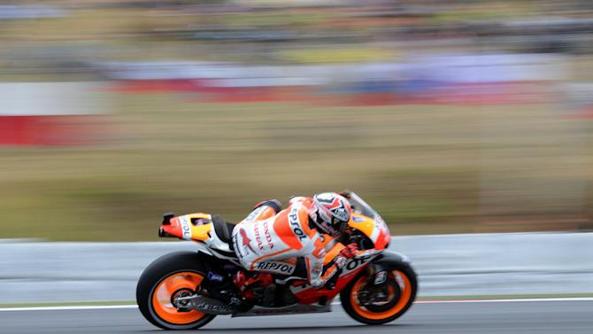 Marquez makes it four in a row at Brno