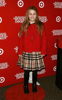 Abigail Breslin at the New York City premiere of Fox Walden's Mr. Magorium's Wonder Emporium