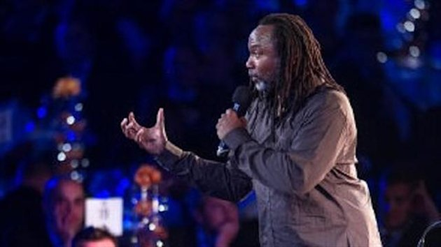 The PFA are said to be considering asking Reginald D Hunter, pictured, to pay back his appearance fee