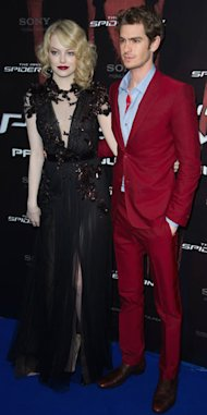 Emma Stone looks gorgeous in Gucci at Amazing Spider-Man Paris premiere