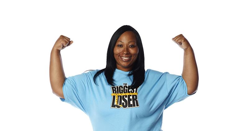 "Daphne Dortch competes on the 13th season of ""The Biggest Loser."""