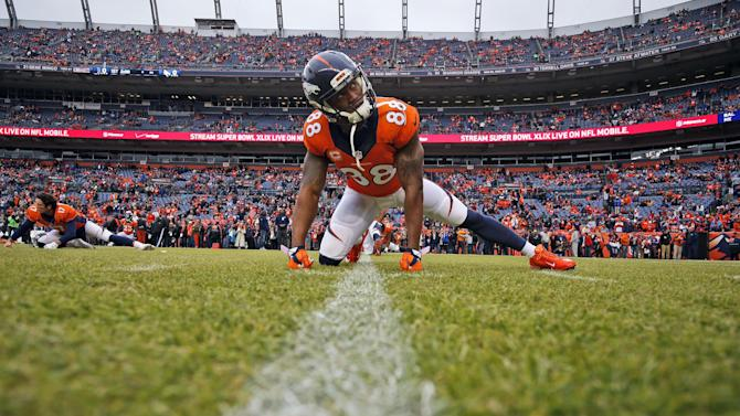 Demaryius Thomas says he'll skip offseason workouts