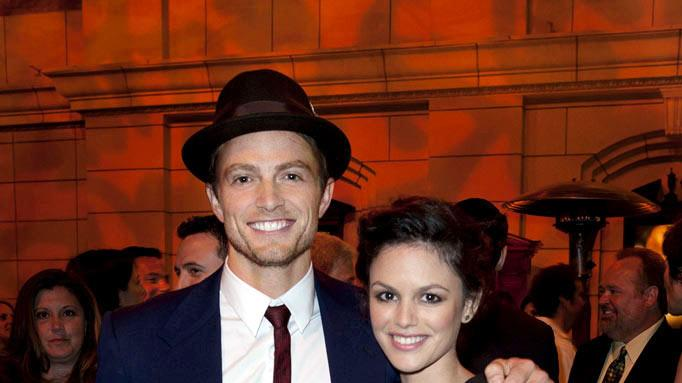 "Wilson Bethel and Rachel Bilson of ""Hart Of Dixie"" attend The CW Fall Premiere party presented by Bing at Warner Bros. Studios on September 10, 2011 in Burbank, California."