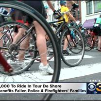 Annual Tour De Shore Begins In Philadelphia