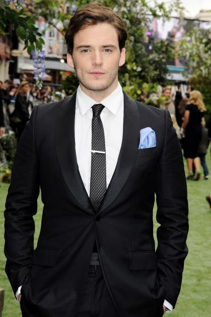 Sam Claflin attends the world premiere of 'Snow White And The Huntsman' in London on May 14, 2012 -- Getty Premium