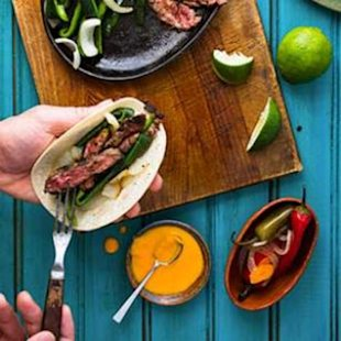 Fast Steak Fajitas with a Convenient Shortcut