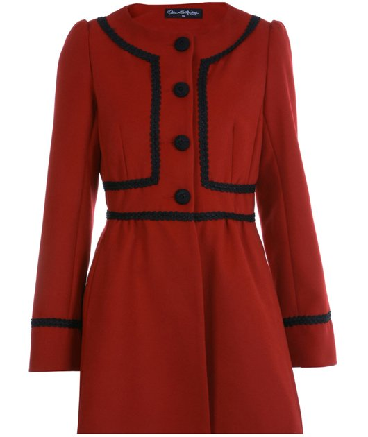 This coat has Kate Middelton written all over it! Make your own stamp on it by wearing it your way be it with tough boots, pretty pumps or sky-scraper heels. 80, missselfridege.com