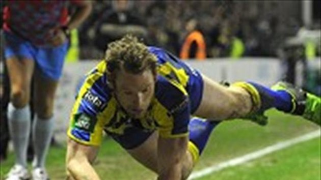 Joel Monaghan scored a brace of tries for Warrington