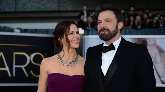 Jennifer Garner and Ben Affleck arrive on the red carpet for the 85th Annual Academy Awards on February 24, 2013 in Hollywood, Calif. -- Getty Premium