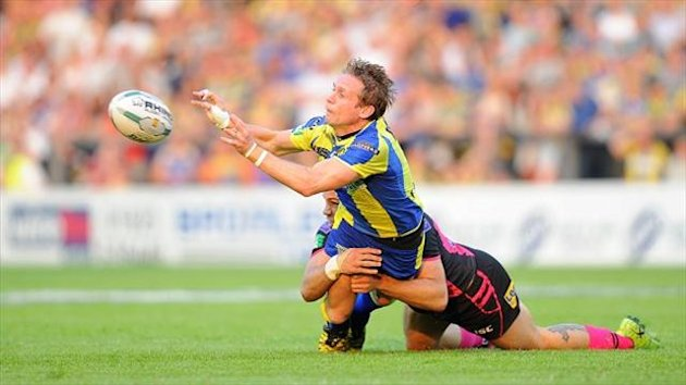 Brett Hodgson kicked over six conversions for Warrington