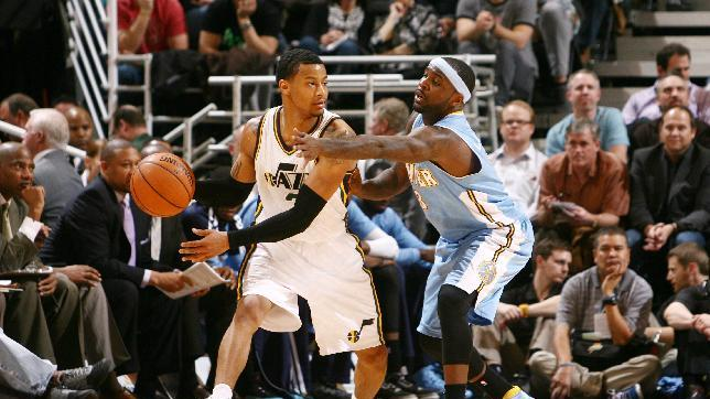 Burks' 34 points lift Jazz over Nuggets 118-103