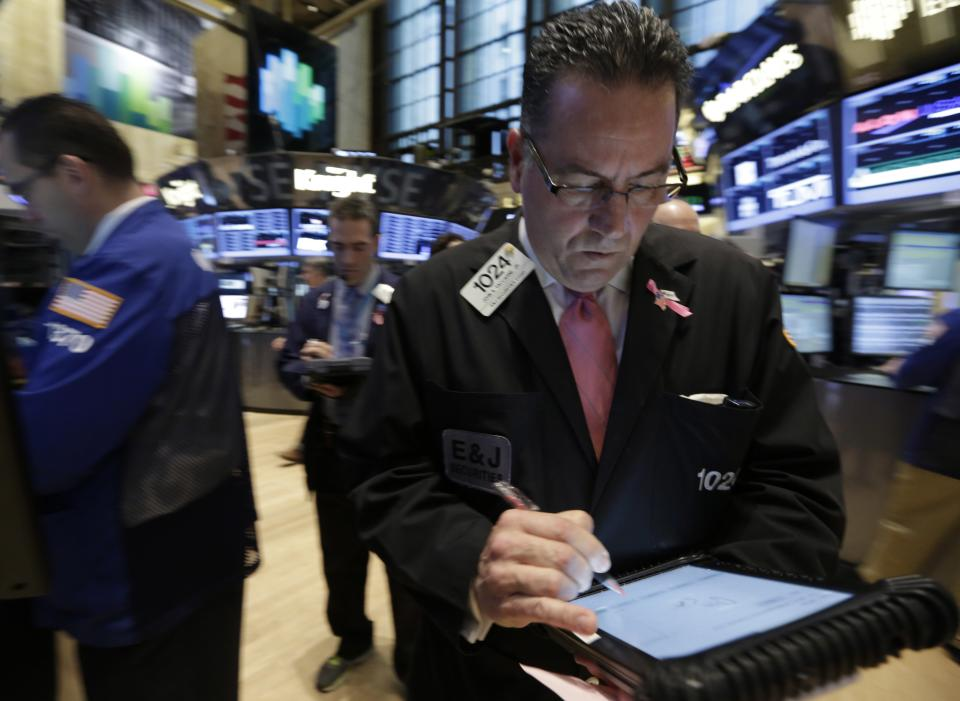 Dow Jones average closes at another record high