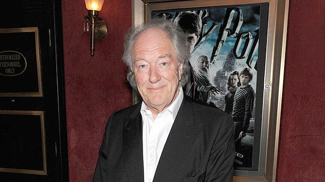 Harry Potter and the Half Blood Prince NY Premiere 2009 Michael Gambon
