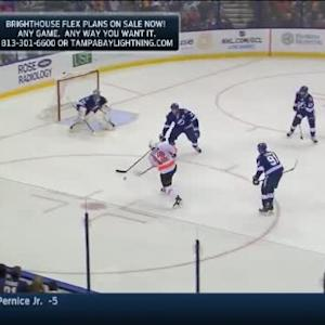 Ben Bishop Save on Michael Raffl (11:04/3rd)