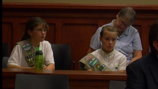 Girl Scout land sale decision