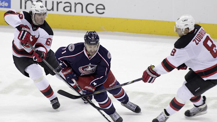 Foligno gives Blue Jackets 5-4 win over Devils