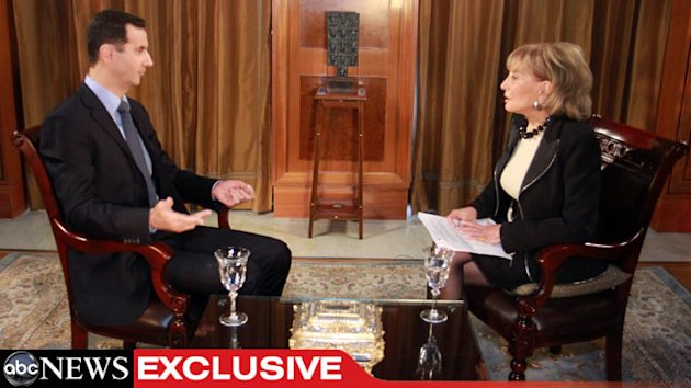 TRANSCRIPT: ABC&#39;s Barbara Walters&#39; Interview With Syrian President Bashar al-Assad (ABC News)