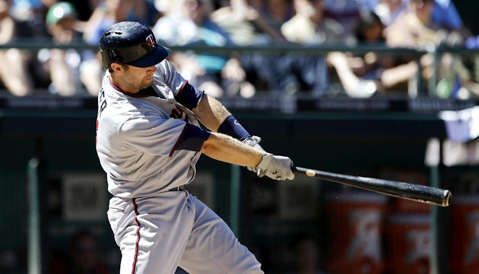 Dozier, Morneau homer in Minnesota's 4-0 victory
