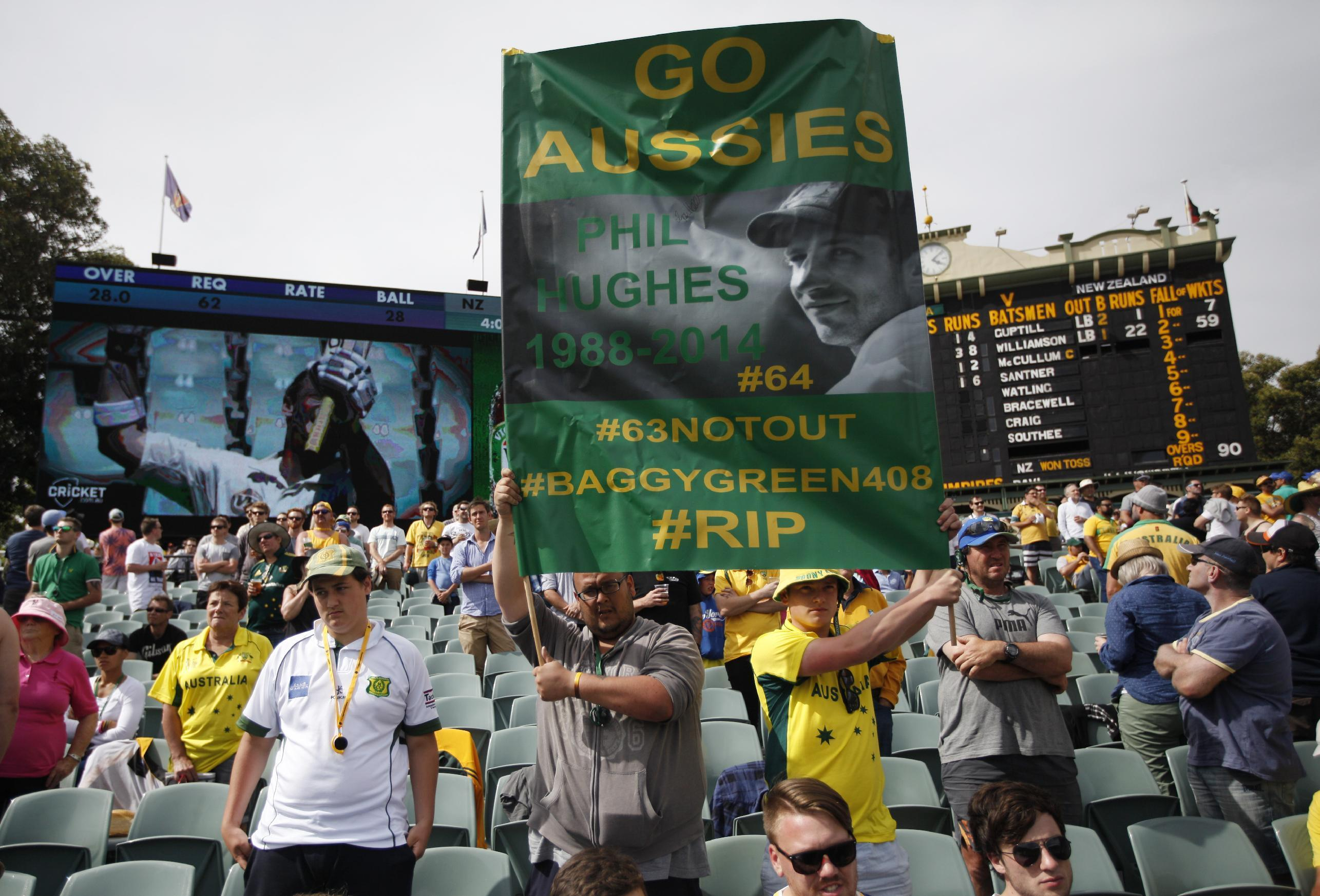 Tribute in Adelaide marks 1st anniversary of Hughes' death