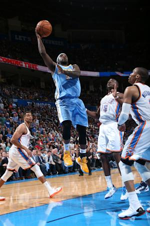 Nuggets beat Thunder for first 13-game win streak