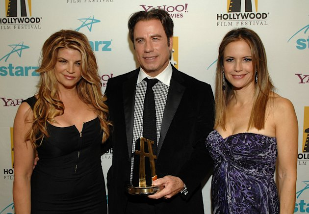 Hollywood Film Festival Awards 2007 Kristie Alley John Travolta Kelly Preston